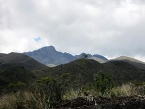 Lavalandschaft am Fuße des Cotopaxi