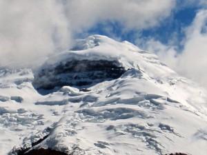 Der Gipfel des Cotopaxi