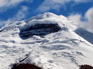 Gipfel des Cotopaxi