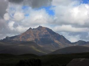 Der nächste - kleine - Berg Richtung Osten
