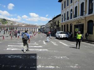 Stadtrundfahrt in Quito