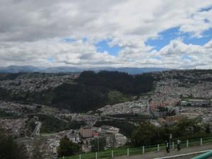 Die Millionenstadt Quito
