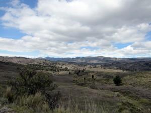 ... auf dem Weg nach Cuenca